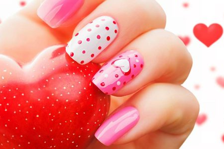 31 Valentine's Day Nail Art Designs Idea - Valentines Day Nails